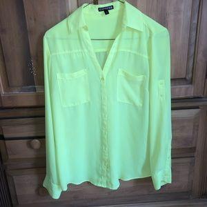 Express Portofino button-up blouse